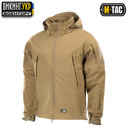 M-TAC КУРТКА SOFT SHELL TAN, фото 2