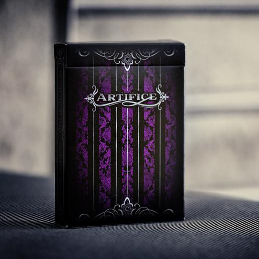 Карты игральные   Artifice Second Edition : Purple