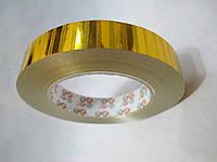 Лента Золотая для декора