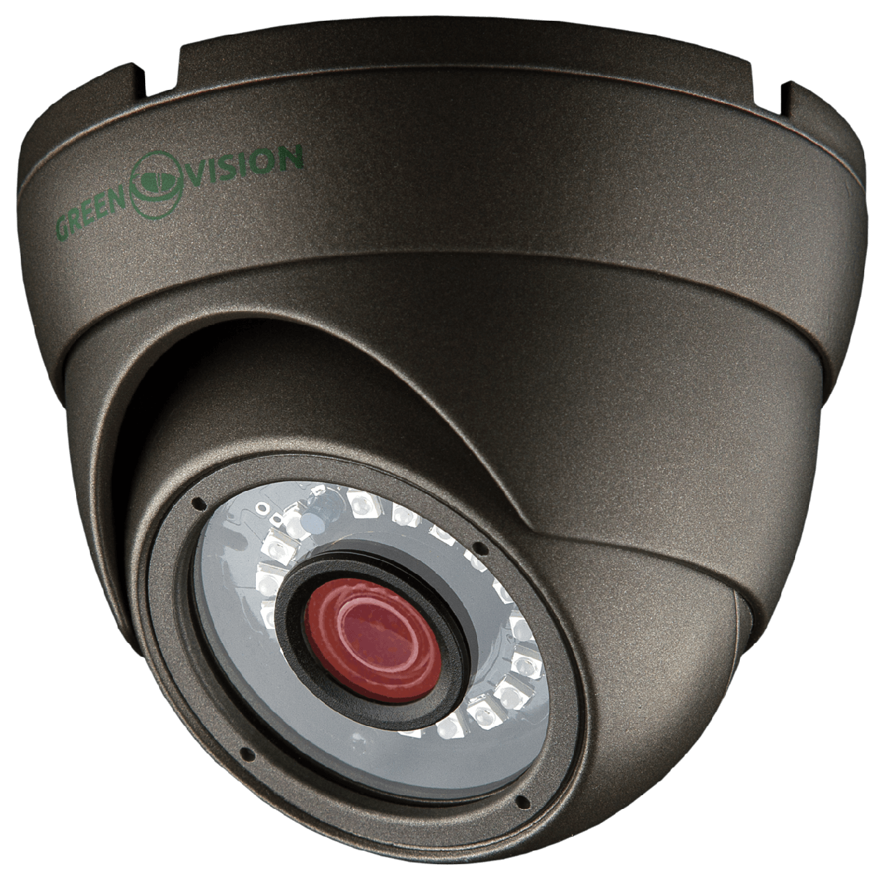 Камера антивандальная внутренняя/наружная AHD Green Vision GV-016-AHD-E-DOS13-20 gray 960P