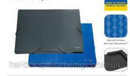 Папка-короб А4 на резинках пластик Economix 20мм Е31401 в ассорт.