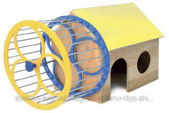 Дом с колесом для хомяка, Природа™