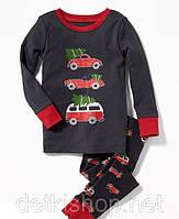 Детская пижама с новогодним принтом Old Navy, 84 см (18-24М)