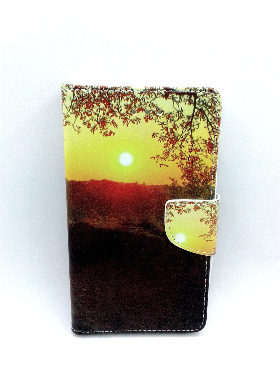 """Чехол-книжка 4you Art Print 5.3""""-5.7"""" Nature универсальная Акционная Цена!"""