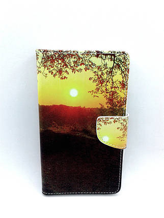 """Чехол-книжка 4you Art Print 5.3""""-5.7"""" Nature универсальная Акционная Цена!, фото 2"""