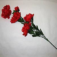 Искусственные цветы Ветка пиона (12 шт)
