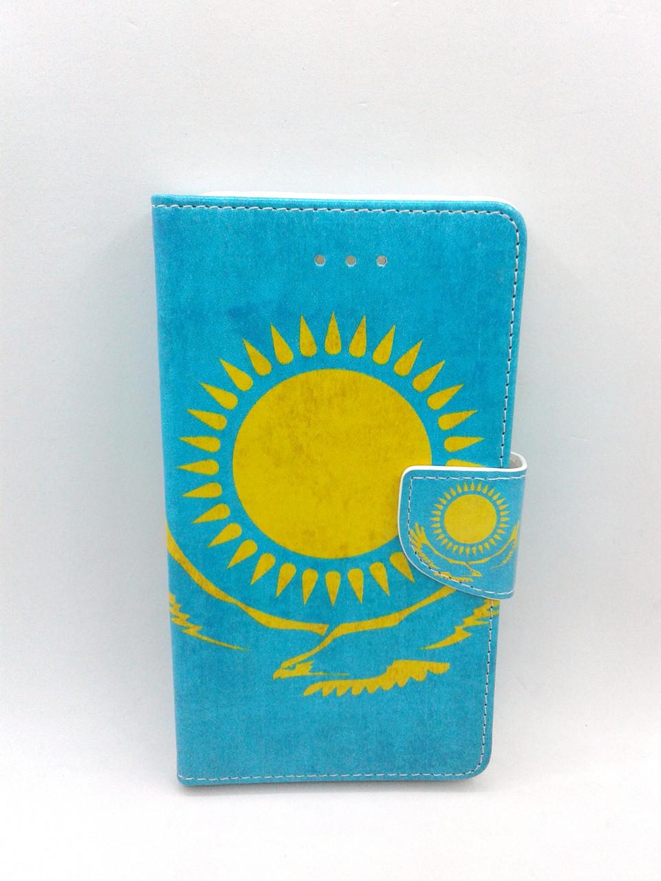 """Чехол-книжка 4you Art Print 5.3""""-5.7"""" Sun универсальная Акционная Цена!"""