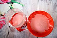Цветной песок для песочной церемонии. Розовый или красный песок. 330 грамм