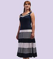 Женское трикотажное платье. Модель 108.  Размеры 50-62
