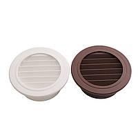 Круглый воздухоотводчик ABS Крышка решетки радиатора Решетчатая решетка для вентиляционной решетки 100 мм