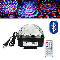 Светодиодный диско-шар LED Magic Ball 6 MP3 Блютуз