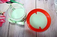 Цветной песок для песочной церемонии. Салатовый/зеленый песок. 330 грамм