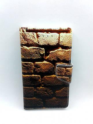 """Чехол-книжка 4you Art Print 5.3""""-5.7"""" Wall универсальная , фото 2"""