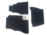 Резиновые коврики MERCEDES Sprinter 1997- (низкий борт, 3 шт)