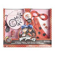 Игровой набор аксессуаров для перевоплощения Я-ЛЕДИ БАГ (маска, перчатки, сумка, сережки, фигурка Тикки)