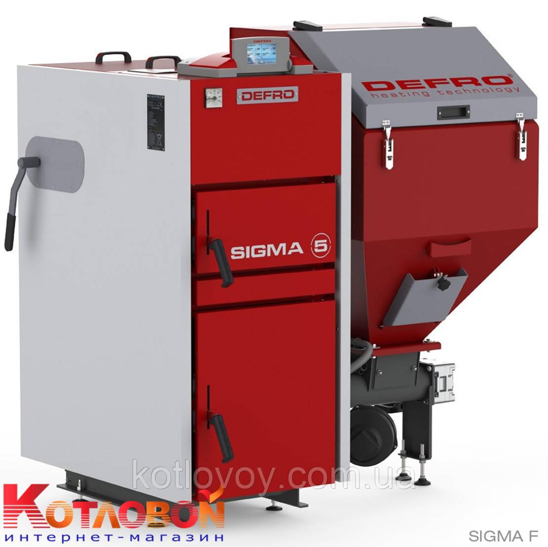 Твердотопливный котёл с автоматической подачей топлива DEFRO SIGMA UNI