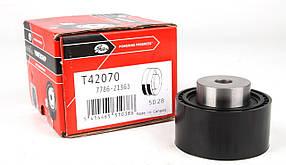 Ролик натяжителя ремня грм зубчатый - GATES T42070   Fiat: DUKATO 2001->2.0JTD Бельгия