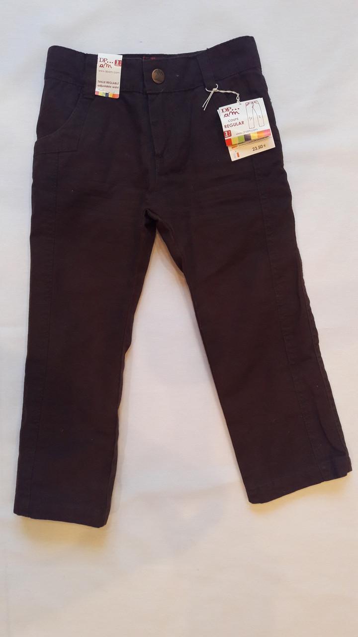 Штаны DPam черные с карманами