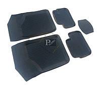 Резиновые коврики ВАЗ 2108, 2109, 21099; ВАЗ 2113, 2114, 2115 (комплект 4 шт.) Дубно