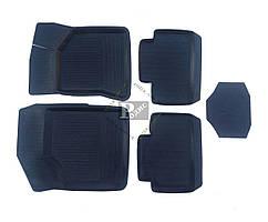 Резиновые коврики ВАЗ 2110-12, 2170 Приора (4 шт.) Дубно