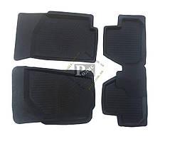 Резиновые коврики ВАЗ 1118 Калина (4 шт.) Дубно