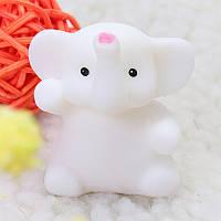 Elephant Mochi Squishy Squeeze Cute Healing Toy 4cm Коллекция Kawaii Подарочный декор для снятия стресса