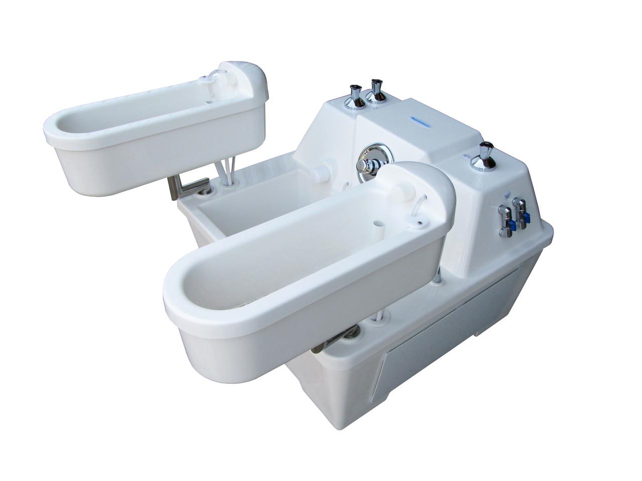 Четырёхкамерная озоно-гальваническая ванна Квадро
