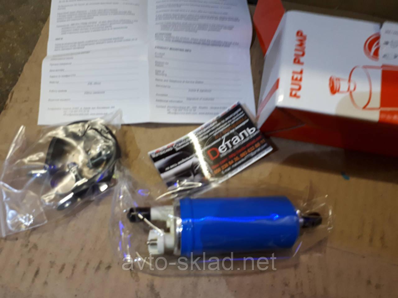 Насос топливный (электробензонасос) Ваз 2101, 2107, 2121, 2108, 21099, ЗАЗ 1102 для карбюраторного двигателя