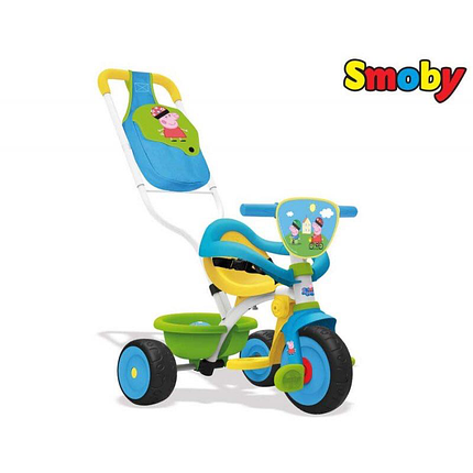 Велосипед трехколесный Be Move Confort Peppa Pig Smoby 740413, фото 2