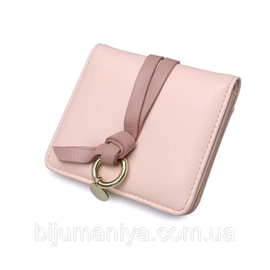 Гаманець жіночий рожевий 11348-б