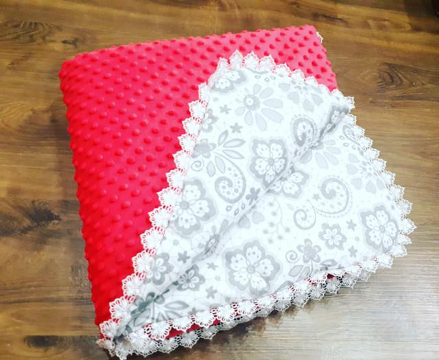 Пледы детские (одеяла) в кроватку и коляску
