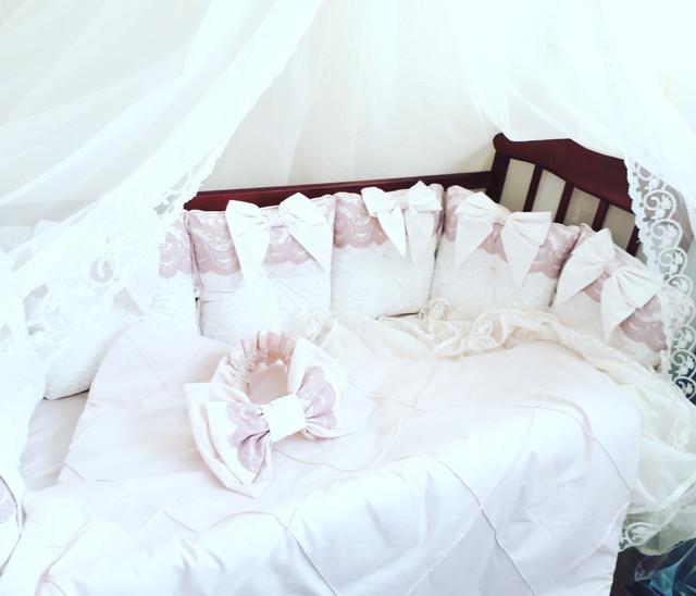 Бортики (защитные) в детскую кроватку