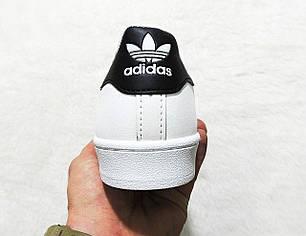 Кроссовки женские Adidas Superstar Classic топ реплика, фото 2