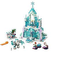 """Игрушка Конструктор для девочек """"Волшебный ледяной замок Эльзы"""" Bela 10664 Disney 709 деталей"""