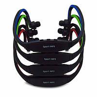 Оригинальные беспроводные наушники со встроенным плеером  Sport MP3