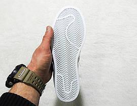 Кроссовки женские Adidas Superstar Holographic White топ реплика, фото 2