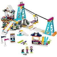 """Конструктор маленький блочный  Lepin 01042 """"Горнолыжный курорт: подъёмник"""" (аналог LEGO Friends 41324)"""