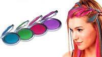 Цветная пудра (мелки) для волос Hot Huez (Хот Хьюз)