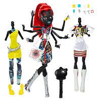 Кукла Монстер Хай Вайдона Спайдер (Вебарелла) из серии Я люблю моду!(Monster High Wydowna Spider I Love Fashio
