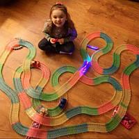 Magic Tracks (220 дет).- волшебные светящиеся гонки (гоночная трасса игрушка)