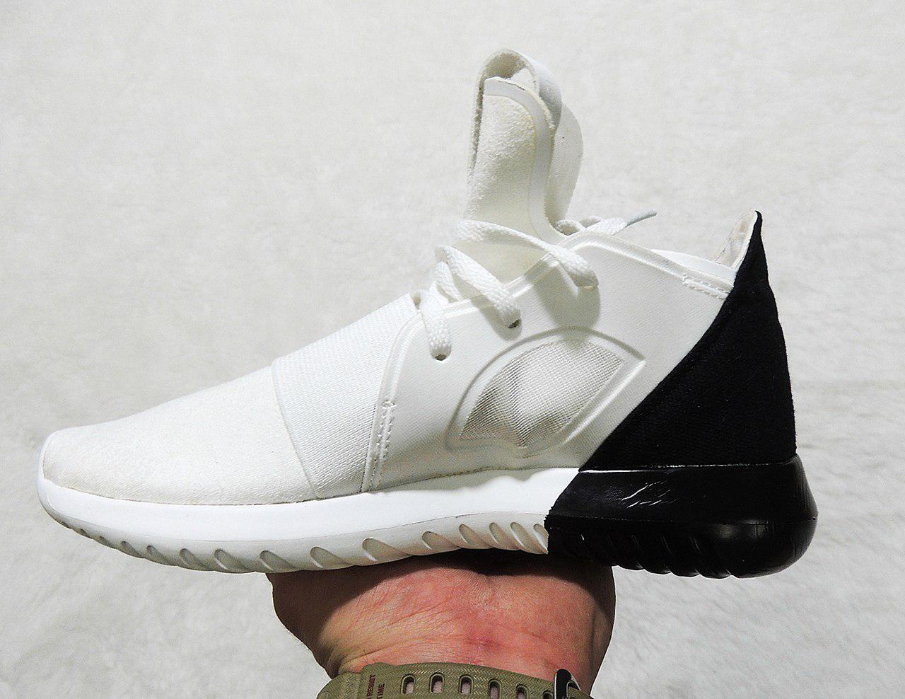 5af5517f288a Женские кроссовки Adidas Tubular Defiant Men Black White топ реплика -  Интернет-магазин обуви и