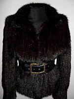Норковая шуба , норковая куртка вязаная р. 44-48