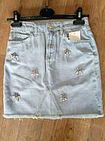 Юбки джинсовые женские