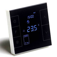 Программируемый сенсорный терморегулятор Heat Plus M7.716 Black