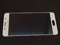 Дисплейный модуль б/у Samsung Galaxy a310 a3 2016 белый оригинал GH97-18249A