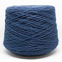 Пряжа Drammatico, синий джинс (30% шерсть, 10% альпака, 10% вискоза, 50% акрил; 180 м/100 г)