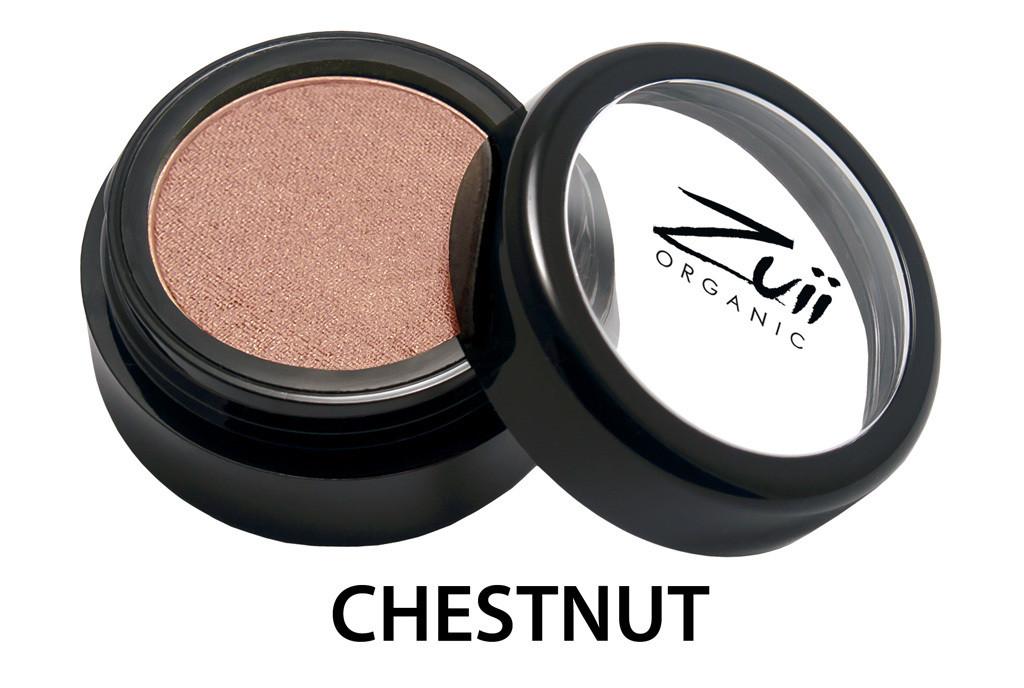 Тени органические для век Chestnut/ Каштан  1,5 г Zuii Organic