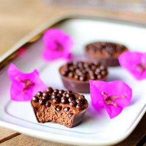 Crispearls Dark Callebaut Шоколадні драже з темного шоколаду  0,8 кг, фото 2
