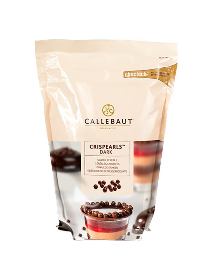 Crispearls Dark Callebaut Шоколадні драже з темного шоколаду  0,8 кг