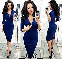 Платье материал: итальянский трикотаж цвета: красный, синий, черный, бордовый, кофейный, хаки ефран№256
